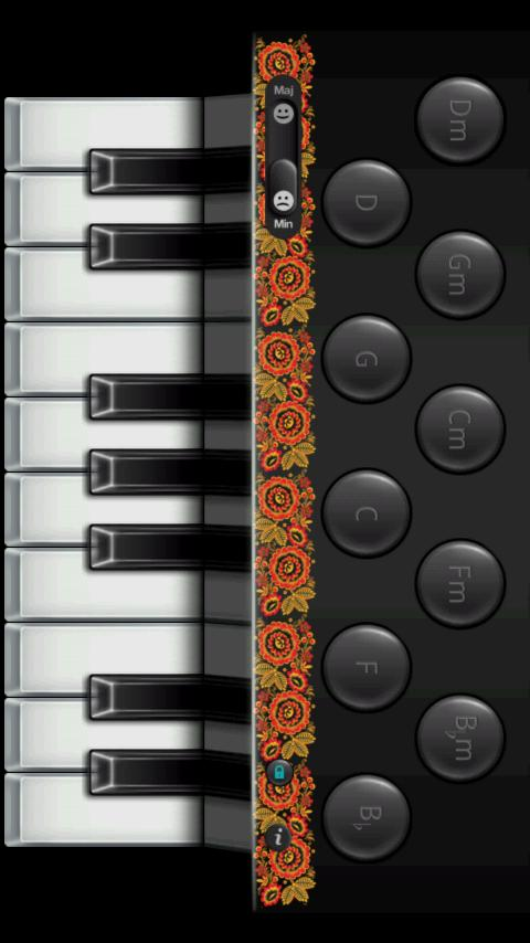 Accordion - screenshot