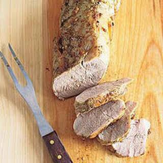 Roasted Pork Tenderloin.