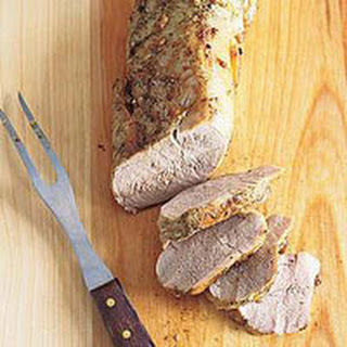 Roasted Pork Tenderloin.