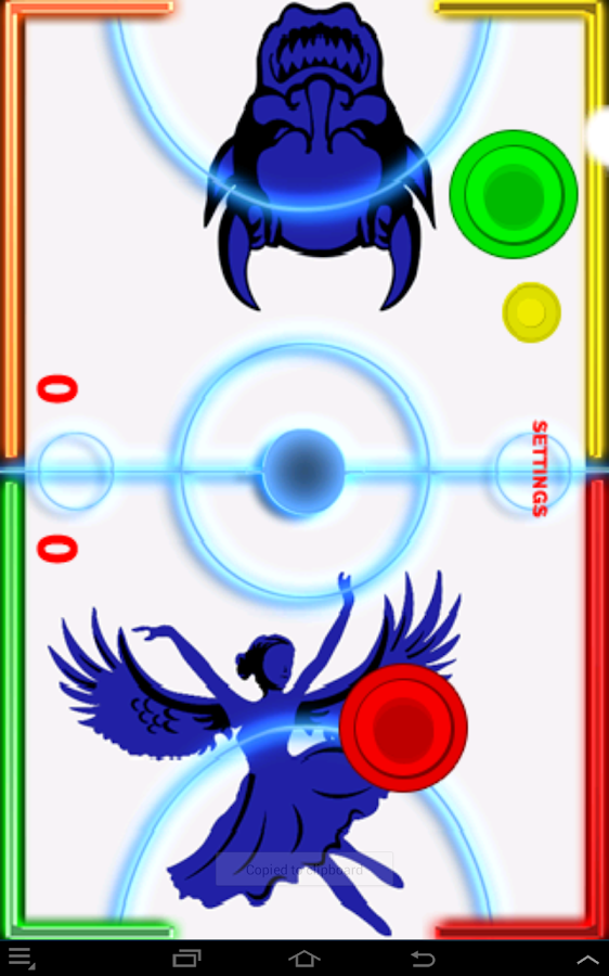 Glow Hockey- Angels vs. Demons - screenshot
