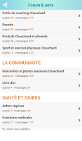 Screenshot of La Chrono Géno Nutrition