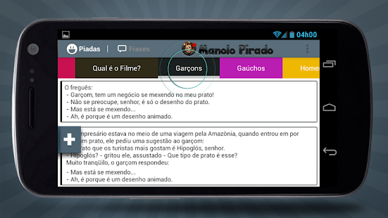 Manolo Pirado Piadas e Frases - screenshot thumbnail