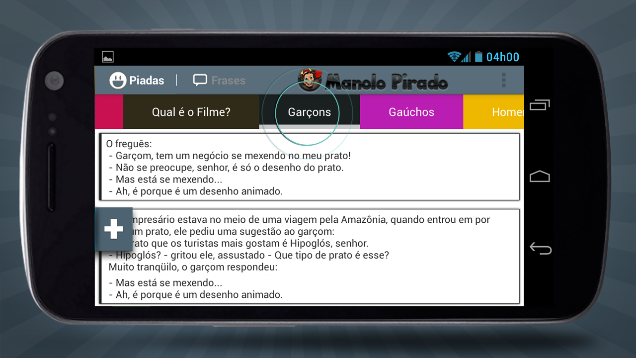 Manolo Pirado Piadas e Frases - screenshot