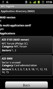 NFC TagInfo- screenshot thumbnail