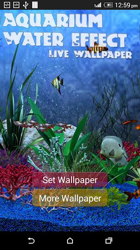 Aquarium Water Effect LWP2