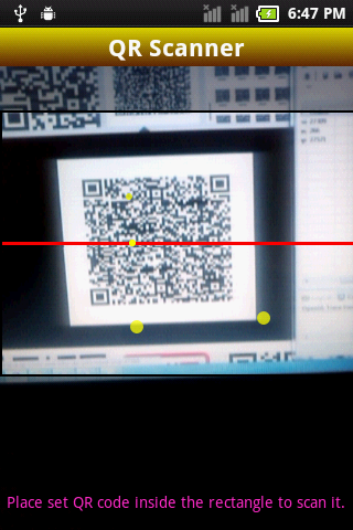 Scan QR Codes with your WebCam - QR Code Generator
