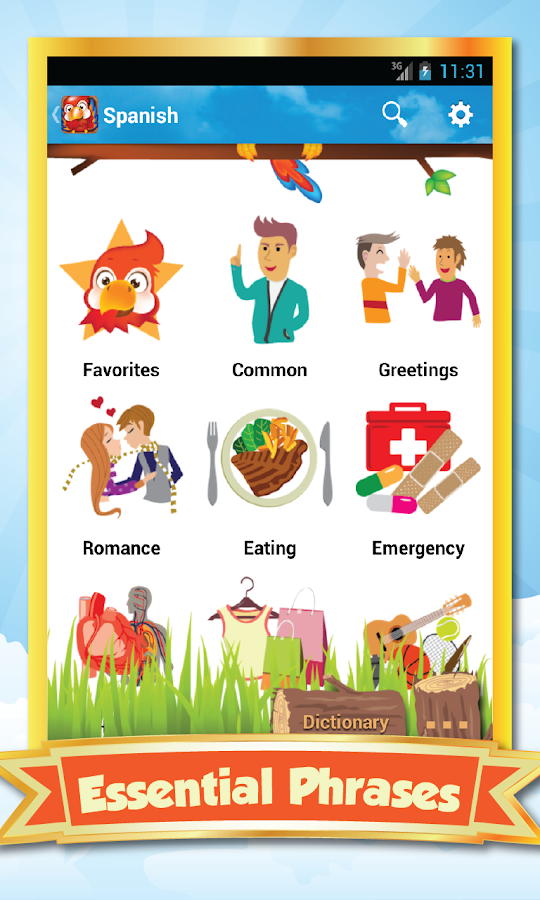 Phrasebook - Learn Languages - screenshot