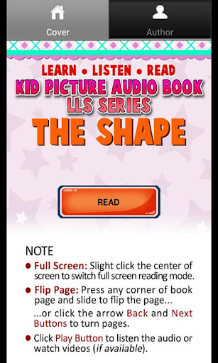 Kid Shape Picture Audio Book