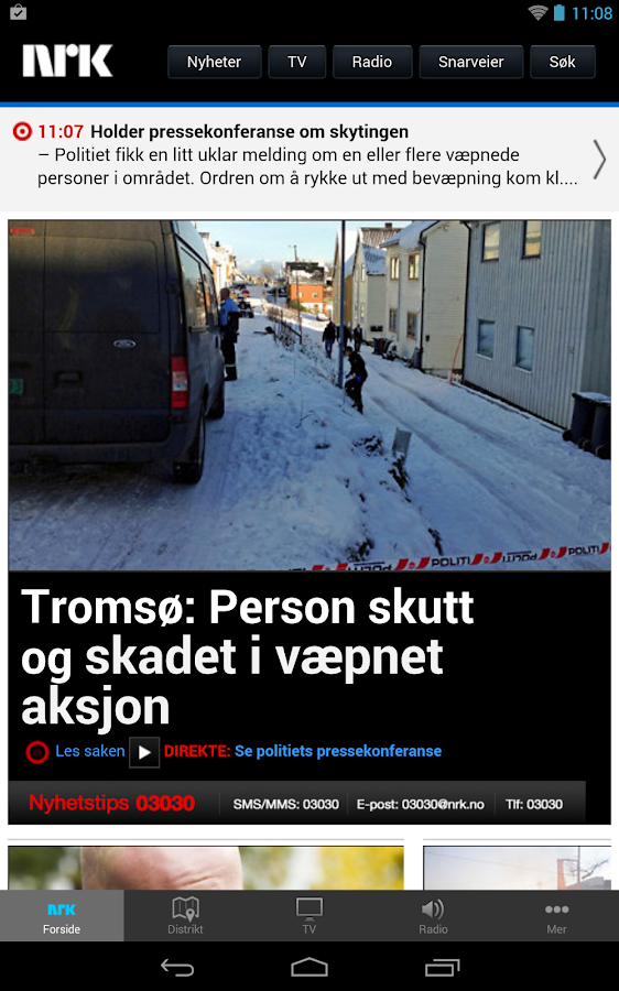 nrk.no- screenshot