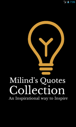 Milind's Quotes Collection