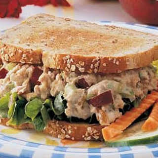 Apple Tuna Sandwiches.