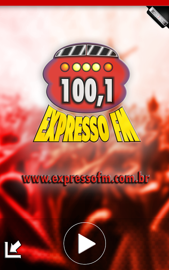Expresso 100.1 FM- screenshot