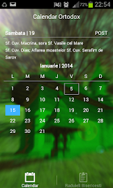 Calendar Crestin Ortodox 2016 Screenshot 1
