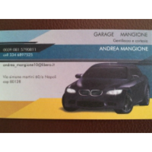 Garage Mangione 商業 App LOGO-APP試玩
