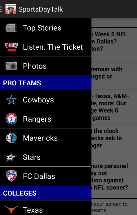 SportsDayTALK w/ 1310TheTicket - screenshot