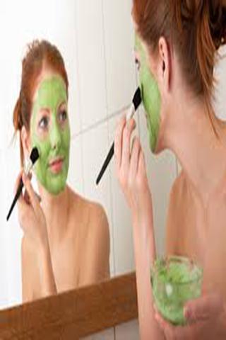 video face skin care make up