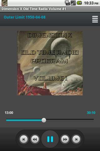 Dimension X Old Time Radio V.1