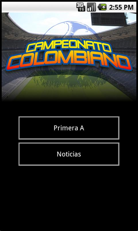 Fútbol Colombiano - screenshot