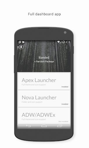 玩個人化App|Banded Icon Pack免費|APP試玩