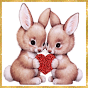 Little Bunnies in Love LWP logo