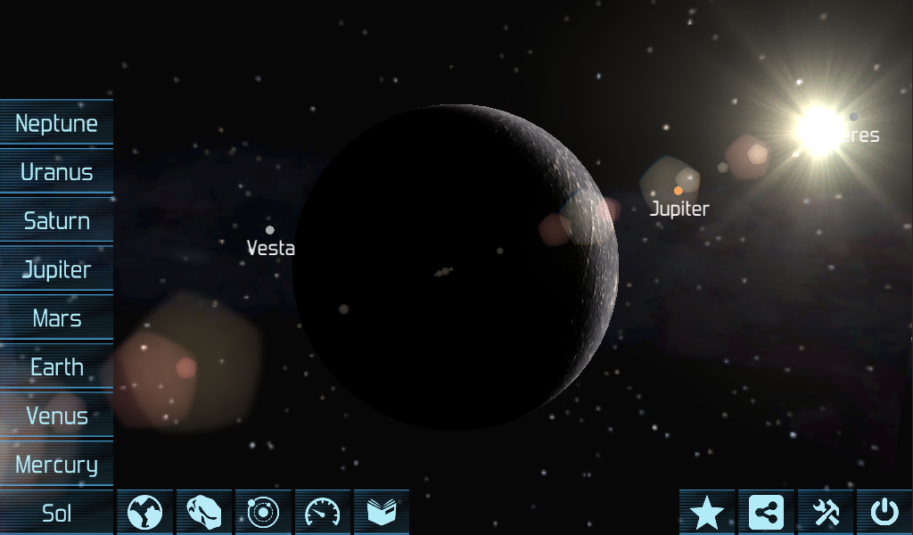 Solar System Explorer HD Pro- screenshot