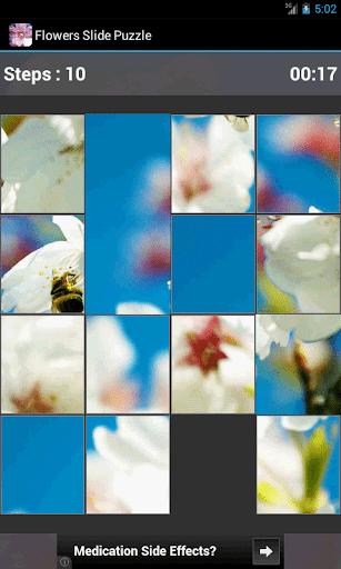 【免費解謎App】Flowers Slide Puzzle-APP點子