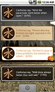 Confucius Say Quote Widget- screenshot thumbnail
