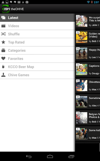 Screenshot 3 for theCHIVE's Android app'