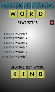 Scatter Word- screenshot thumbnail