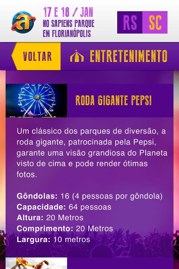 Planeta Atlântida - screenshot