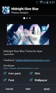 MG Blue Apex Theme- screenshot thumbnail