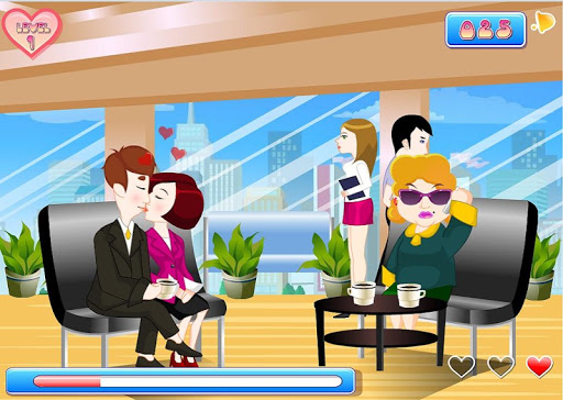 【免費休閒App】Kissing Office Game-APP點子