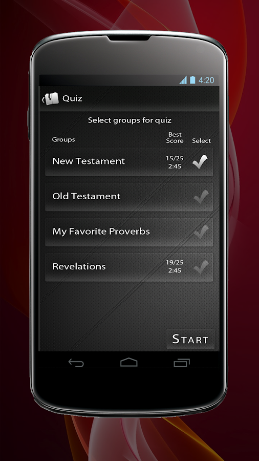 Bible Mind- screenshot
