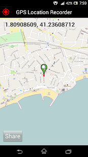 GPS Distance Location Tracker- screenshot thumbnail