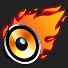 Burning Speaker icon