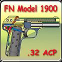FN model 1900 pistol explained icon