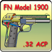FN model 1900 pistol explained