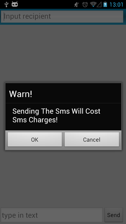 Secret Sms - screenshot