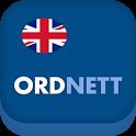 Ordnett - Engelsk blå ordbok icon