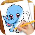 Download Android Game Learn to Draw Anime Animals for Samsung