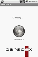 Screenshot of Moon Watch