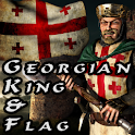 Georgian King & Flag icon