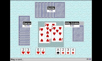 Screenshot of Hearts Card Game FREE