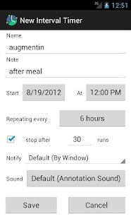 AnyTimer Pill Reminder - screenshot thumbnail