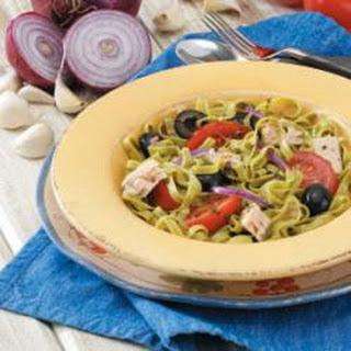 Mediterranean Pasta and Lentil Salad.