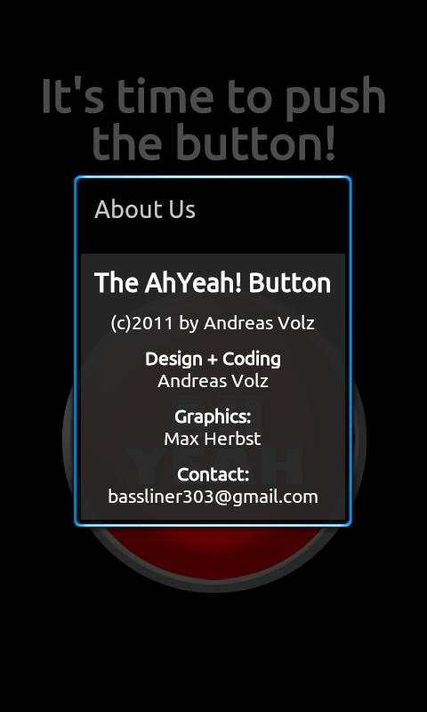 The Ah Yeah! Button- screenshot