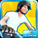 BMX Bike Ride & Run icon