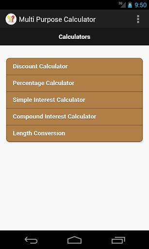 Multi Purpose Calculator