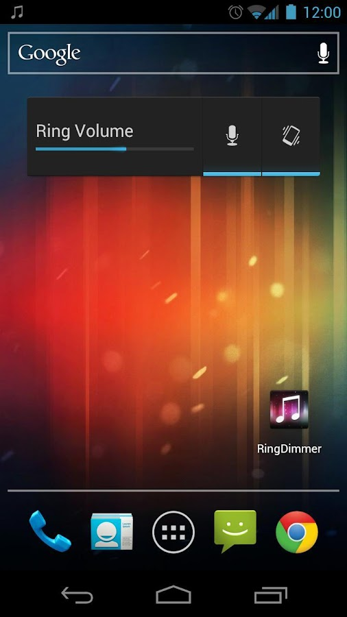 RingDimmer Free - screenshot