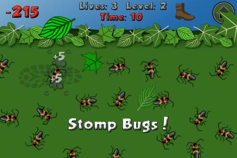 Bye Bugs Lite - screenshot